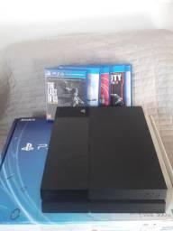 PS4 usado (na caixa)