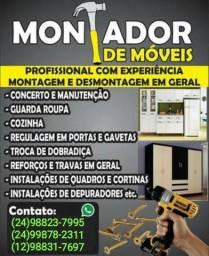 MONTANDO DE MÓVEIS