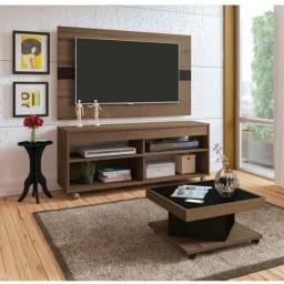 Rack com rodinhas+painel tv até 42 novos na caixa entrega grátis
