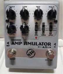 Amp Simulator As1 Nig Pedal - NIG
