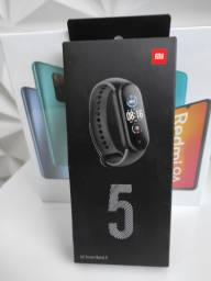 PROMOÇÃO.Mi Band 5 da Xiaomi. Novo Lacrado com Garantia e Entrega