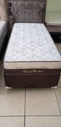 :: Promoçao Cama Box + Colchao Sleep Pocket Solteiro 88x188 Confira