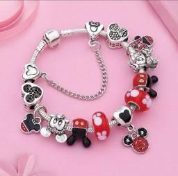 Pandora estilo Pandora Vivara Mickey e Minnie