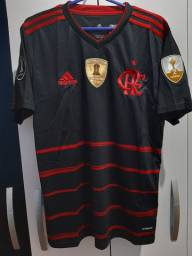 Camisa Do Flamengo III uniforme 2020/21 Novos Patrocínios Pronta Entrega <br>
