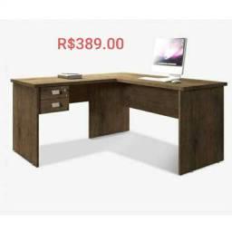 Mesa P/escritório  em L (Promoção)