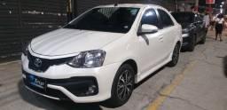 Etios sedan 2018 platinum 1.5 automático ( IMPECAVEL)