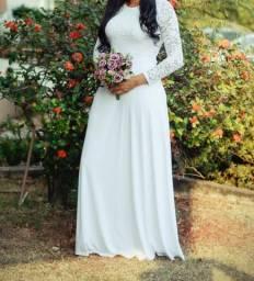 Vestido noiva civil R$ 50