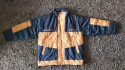Jaqueta de nylon forrada tamanho G