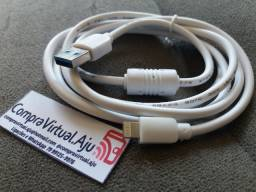 Cabo USB Lightning para iPhone, com 1.5M de comprimento
