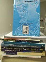 Livros (usados e em bom estado de conservação). Venda fracionada ou pacote.