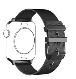 Pulseira de aço inoxidavel para Apple Watch 42mm ou 44mm