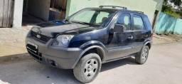 Carro EcoSport 2006, 1.6 flex, completo, km: 109.436