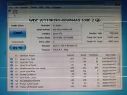 Título do anúncio: hd de desktop testado revisado wd de 1 terabyte