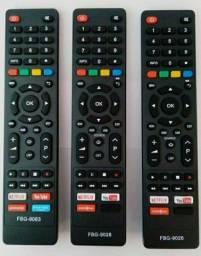 Controle Remoto TV Led Philco com Netflix / Youtube / Globo Play