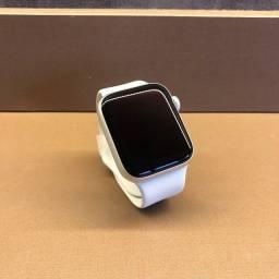 Título do anúncio: Apple Watch S6 44MM Silver Novo