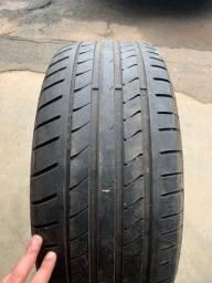 2 Pneus 225/50R17 Dunlop meia vida