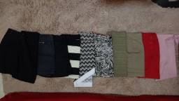 Lote de 5 saias ( usadas ) por 65,00 reias
