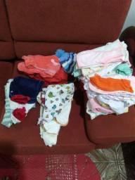 Lote de roupinhas bebê menina