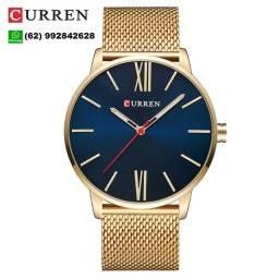Título do anúncio: Curren Relógio Quartz Masculino Dial Ultrafino Casual