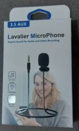 Microfone Lapela- Promoção - Lavalier MicroPhone