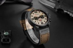 Título do anúncio: Relógio masculino original pulseira de couro