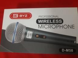 Microfone Wireless Byz D M58