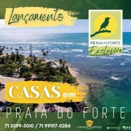 Casas condomínio fechado 136m², Praia do Forte Exclusive