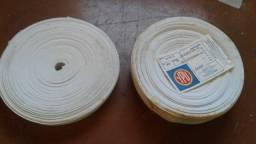 Título do anúncio: Rolos de Elástico algodão Ypu 25 m cada rolo. Lacrados para shorts e bermudas