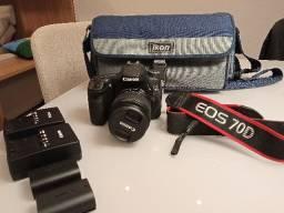 Canon 70D + Lente