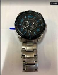 Relógio Masculino Technos 6P79AI/1A TS Carbon Esportivo Analógico