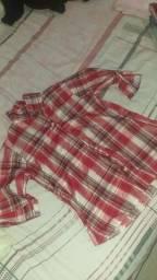 camisas xadrez feminina novas! 15$ cada