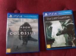 Shadow of the colossus + The Last guardian ps4
