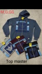 Blusão de zip