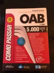 Livros de questões OAB
