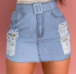 saias jeans no atacado