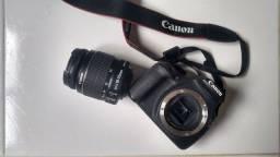 Título do anúncio: Máquina fotográfica Canon + Lente 18-55mm
