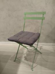 Conjunto 4 cadeiras flora origami marca naterial