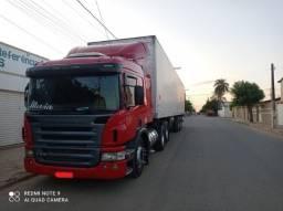 Título do anúncio: Scania P340 2011 + Baú Random 2008 15m + Rastreador Autotrac