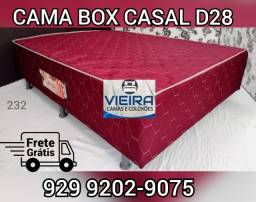 Título do anúncio: cama box casal espuma  entrega gratis ***!!
