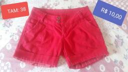 Vendo short jeans semi novo em perfeitas condições