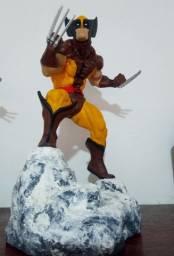 Estátua Wolverine Brown Suit Erick Sosa 1/6 Custom
