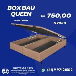 Box Baú Queen (tampa inteira)