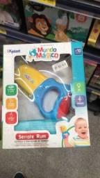 Título do anúncio: Brinquedo Serrote Colorido Com luz e Som somente 39 reais a unidade