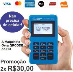 Máquina do Mercado pago.