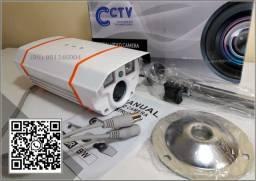 Promoção de Camera de Segurança com visao infra vermelha, detecção de mov