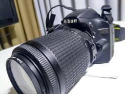 Câmera Nikon D3200 ótima para lives