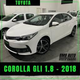 COROLLA GLI 1.8 2018