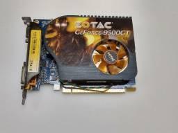Placa de video Nvidea Ge-Force 9500GT 1GB 128Bits