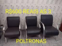 Título do anúncio: POLTRONAS SEMI NOVAS