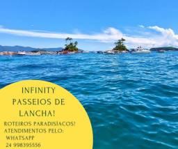 Título do anúncio: Infinity nautic Passeios de lancha (Angra Dos Reis) siga no Instagram @infinity.210
